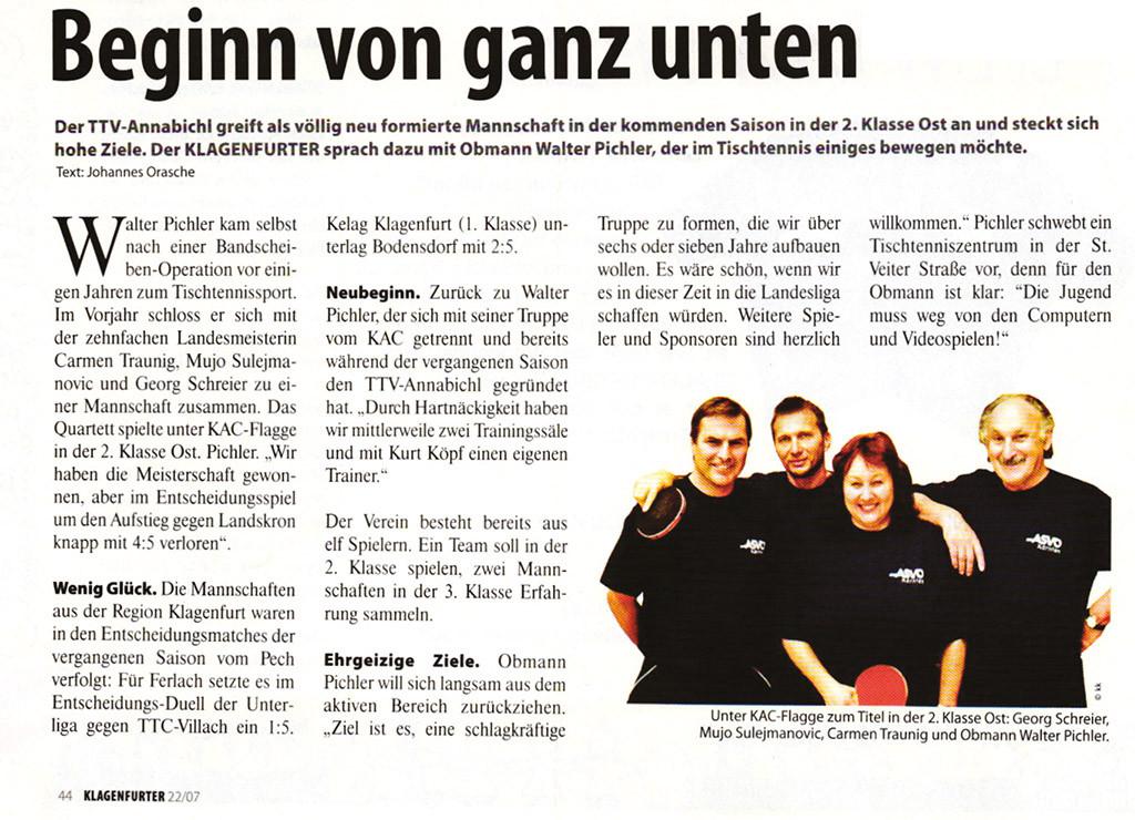 7_2007 Beginn von ganz unten - TTV Annabichl.eps